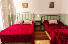 Bedroom 2. One double bed + one single bed (100 cms.)