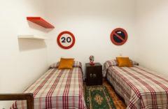 Bedroom 3. Twin beds