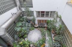 Bonito patio interior  con plantas (no accesible)