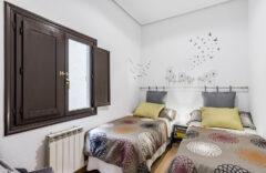 Dormitorio 2. Una cama y una cama individual doble