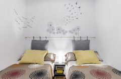 Dormitorio 2. Una cama y una cama individual